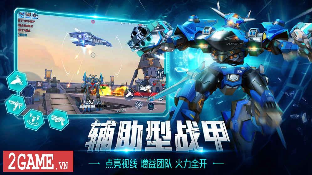 League of Mecha – MOBA bắn nhau cực đã bằng Robot 2