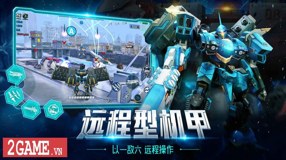 League of Mecha – MOBA bắn nhau cực đã bằng Robot 3