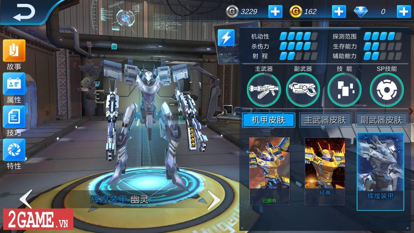 League of Mecha – MOBA bắn nhau cực đã bằng Robot 5