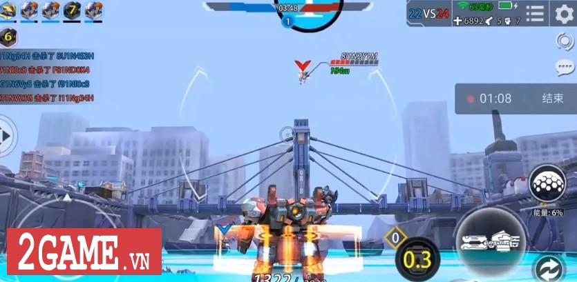 League of Mecha – MOBA bắn nhau cực đã bằng Robot 8