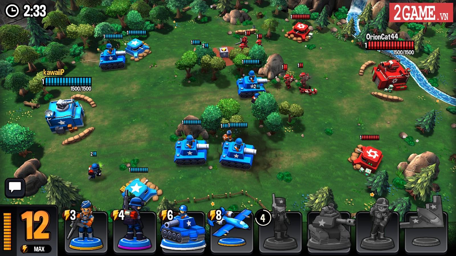 Mini Guns - Game mobile chiến thuật áp dụng lối chơi thả quân giữa Clash Royale và Super Senso 0
