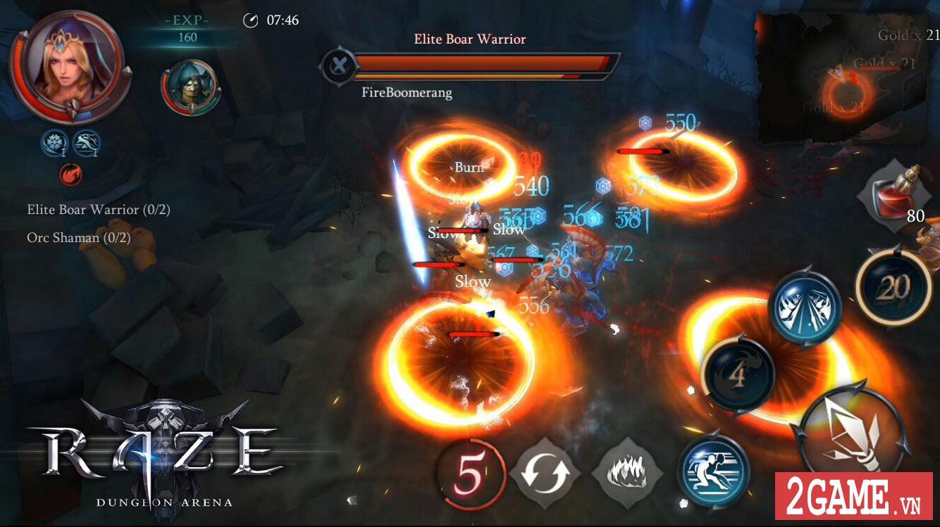 Raze: Dungeon Arena - Game nhập vai hành động chuyên cày phó bản là đây! 2