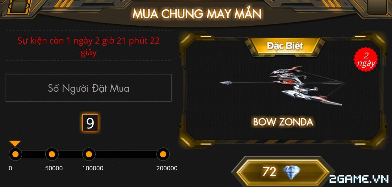 Crossfire Legends - Mua chung may mắn (27.07): Thử vận may với Bow-Zonda vĩnh viễn 0