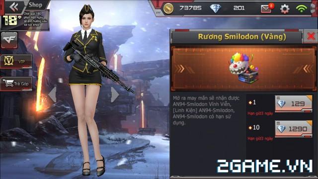Crossfire Legends - Mở bán rương may mắn: Cơ hội rinh AN94-Smilodon & D.E-Chaos Dragon vĩnh viễn 1