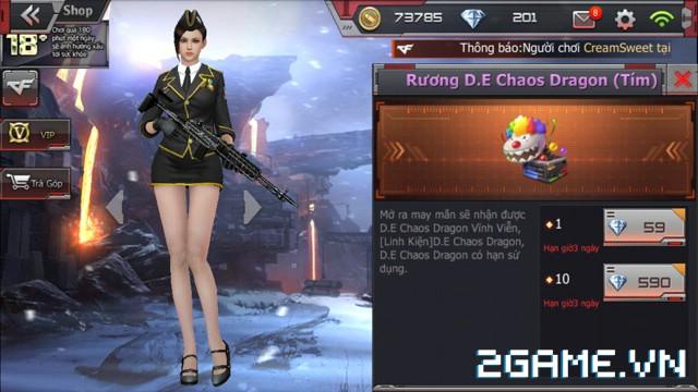 Crossfire Legends - Mở bán rương may mắn: Cơ hội rinh AN94-Smilodon & D.E-Chaos Dragon vĩnh viễn 2