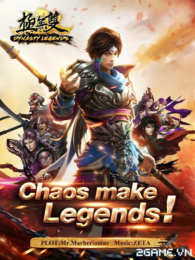 Dynasty Legends - Legacy of King: Game mobile nhập vai chặt chém điên cuồng 0