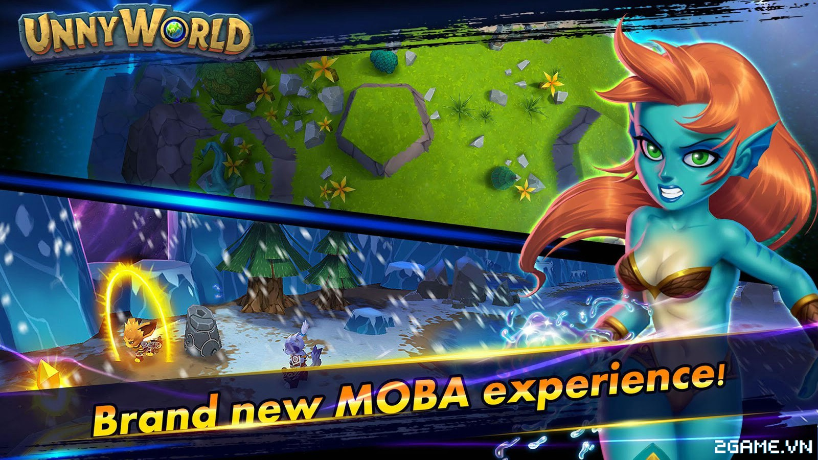 UnnyWorld – Game MOBA với phong cách bản đồ và lối chơi siêu dị 2