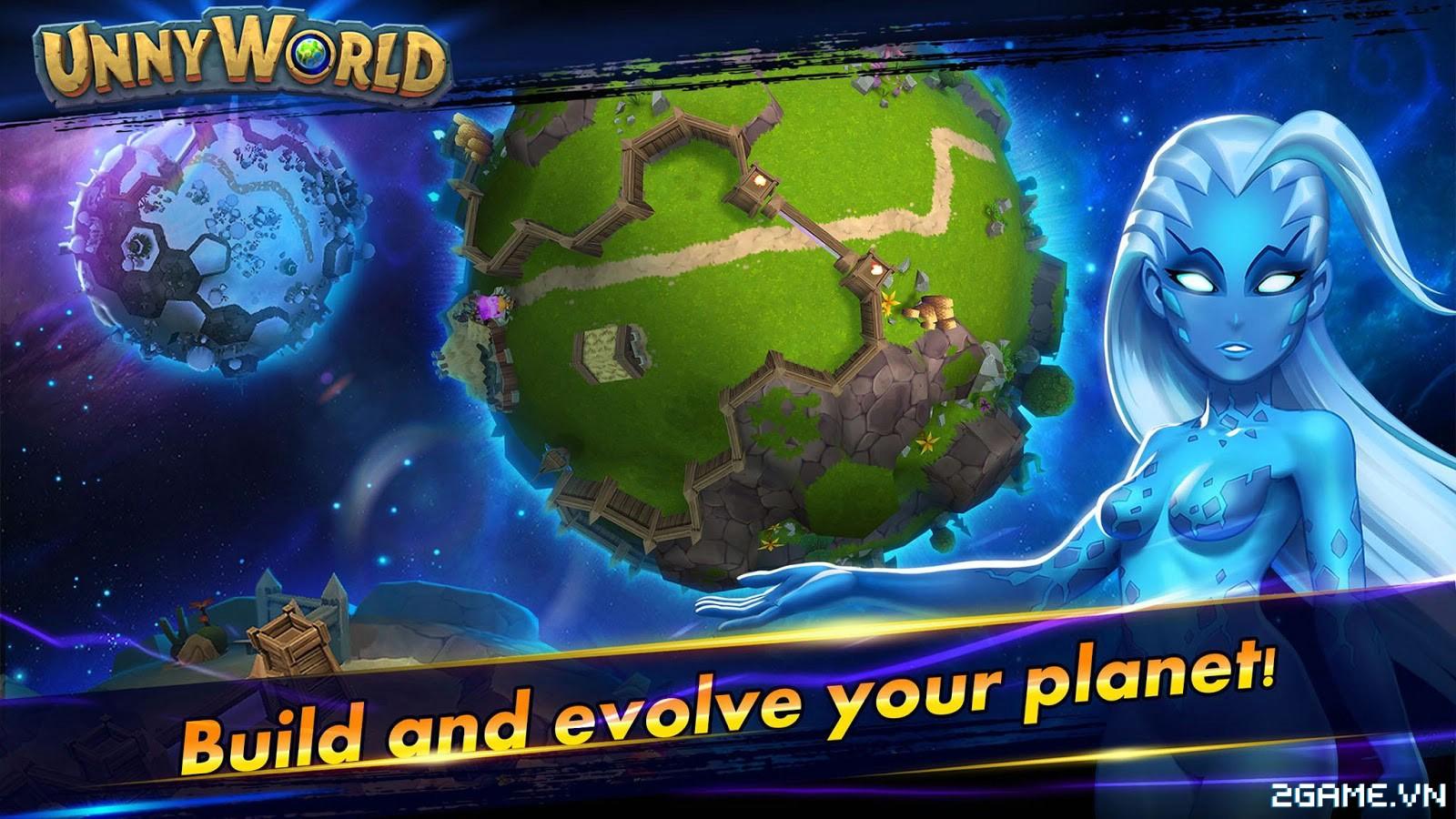 UnnyWorld – Game MOBA với phong cách bản đồ và lối chơi siêu dị 4
