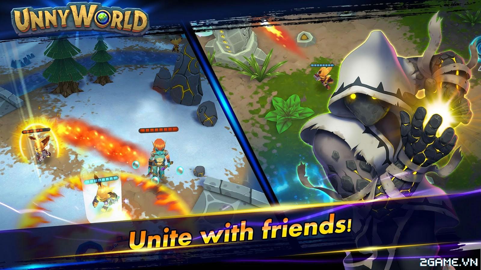 UnnyWorld – Game MOBA với phong cách bản đồ và lối chơi siêu dị 5