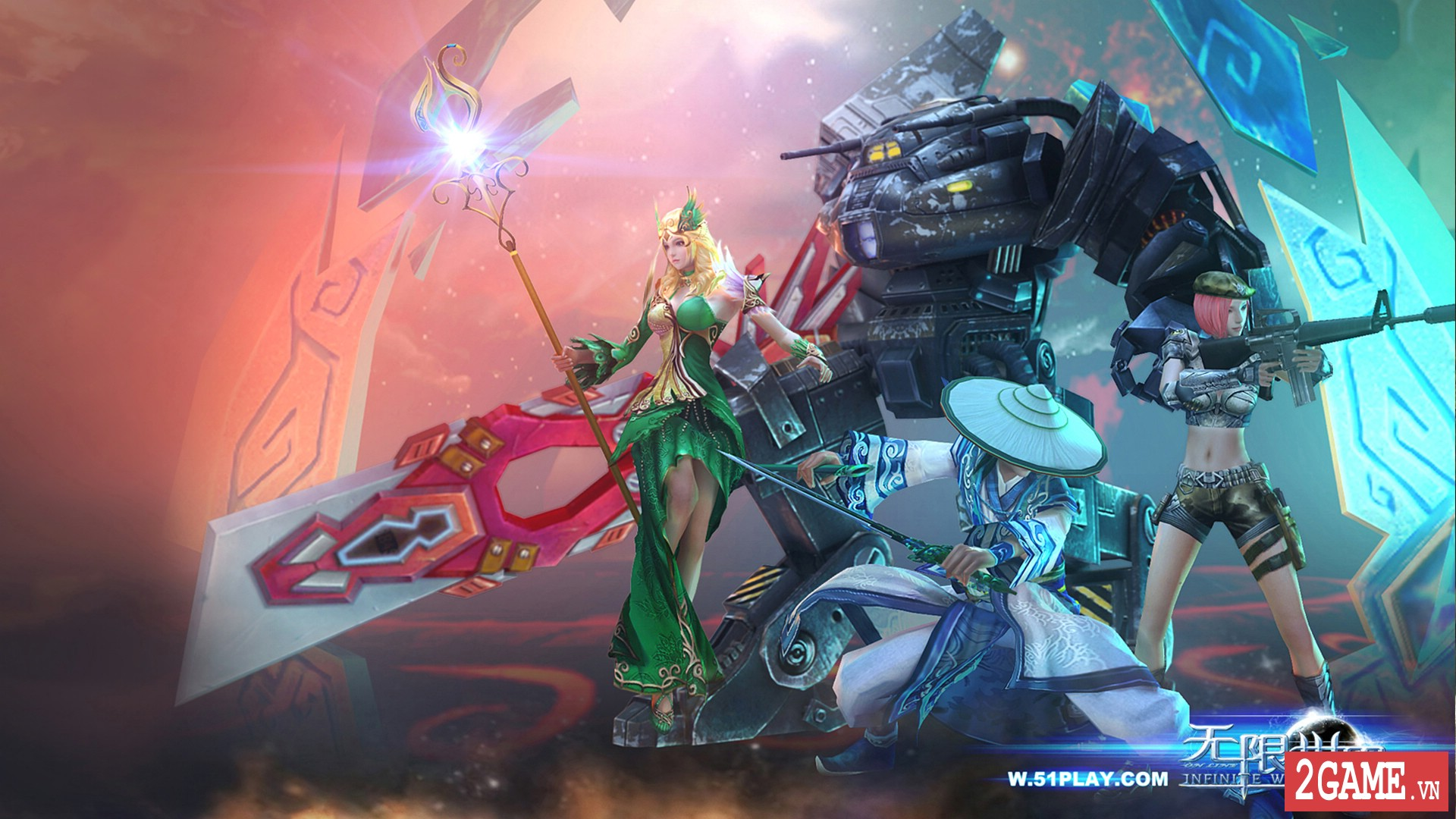 Infinite Worlds – Siêu phẩm game nhập vai với bối cảnh mới lạ chưa từng thấy 2