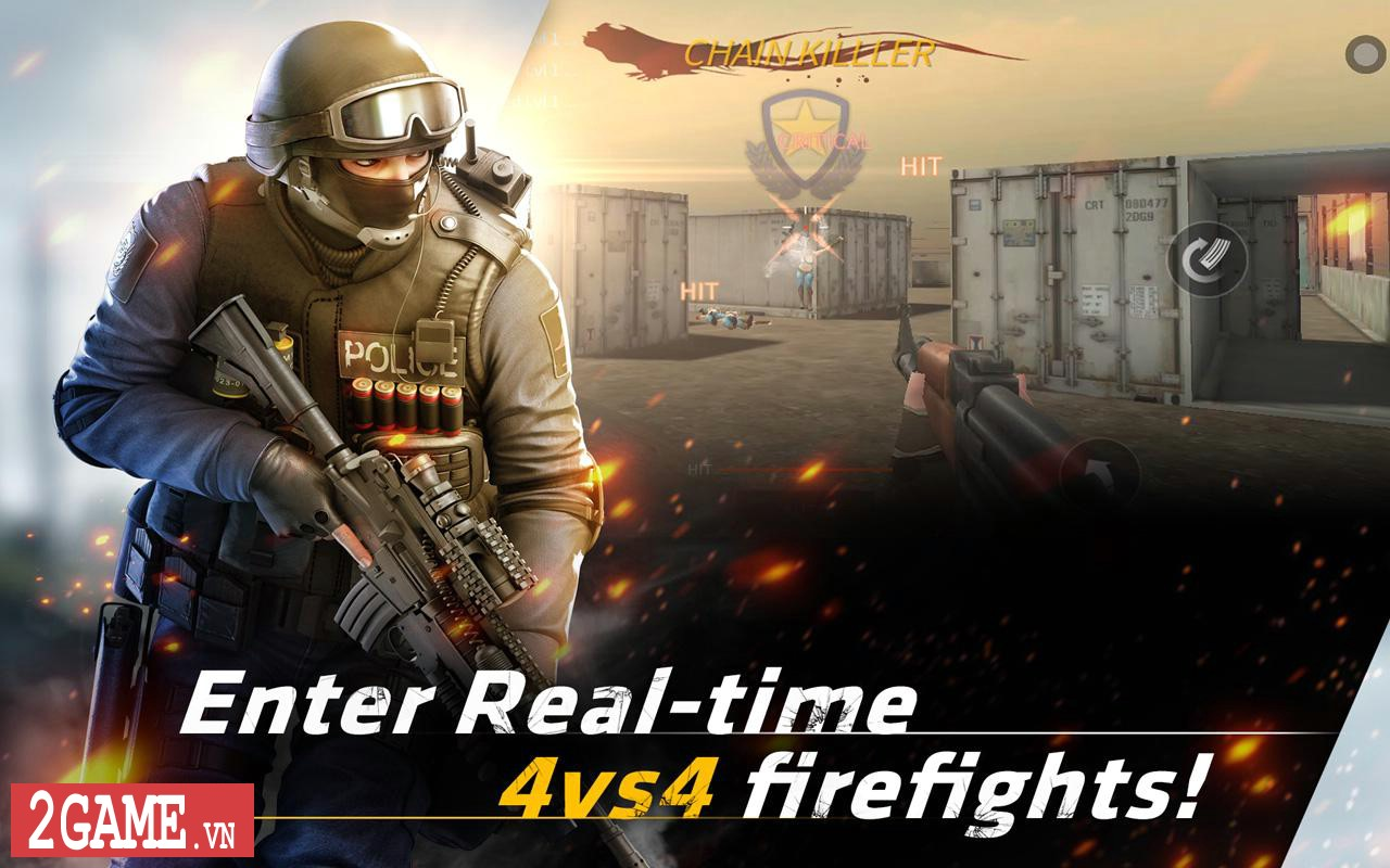 Point Blank: Strike - Game mobile bắn súng chuyển thể từ phiên bản PC hỗ trợ cả ngôn ngữ tiếng Việt 3