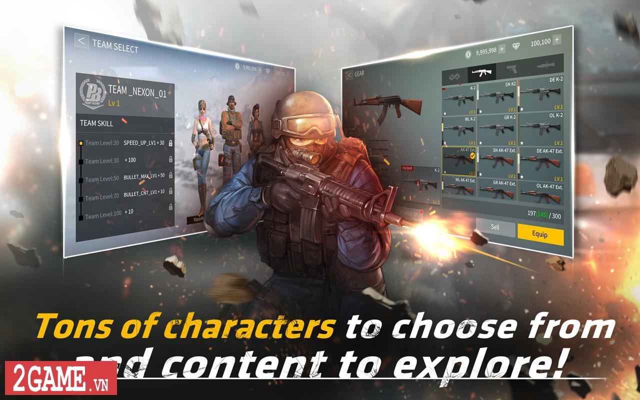 Point Blank: Strike - Game mobile bắn súng chuyển thể từ phiên bản PC hỗ trợ cả ngôn ngữ tiếng Việt 6