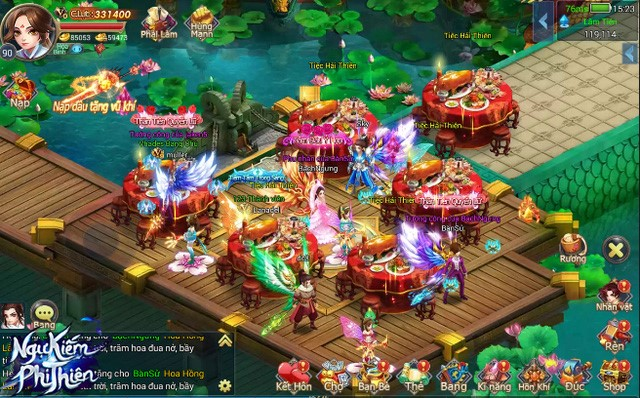 Ngự Kiếm Phi Thiên - Thêm một game nhập vai Tiên hiệp mới nữa cập bến Việt Nam 3