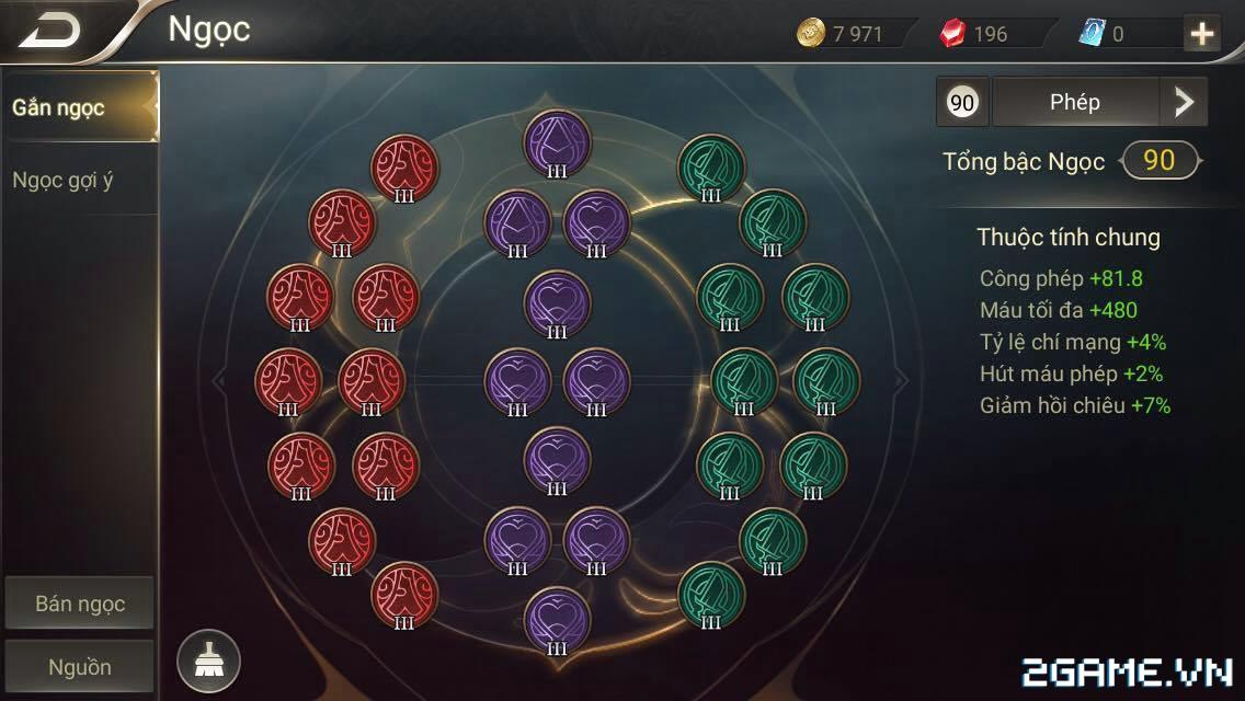 Liên Quân Mobile - Tham khảo cách chơi của game thủ thách đấu Lunaria 4