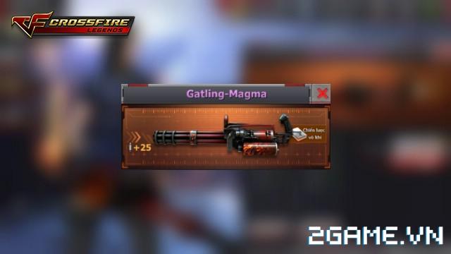 Crossfire Legends - Giá ngon mỗi ngày (29.07): Gatling-Magma 7 ngày chỉ 69 gem 0