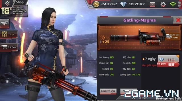 Crossfire Legends - Giá ngon mỗi ngày (29.07): Gatling-Magma 7 ngày chỉ 69 gem 1