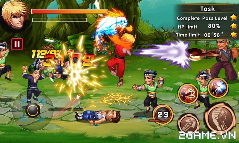 Fury Street - Khi Street Fighter trở thành game đi cảnh màn hình ngang 2