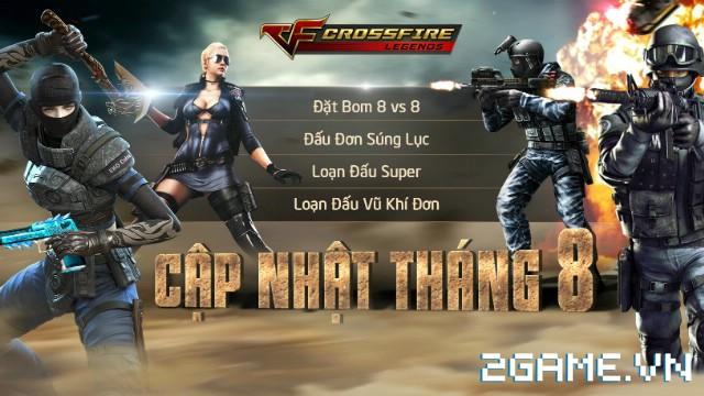 Crossfire Legends - Xem trước hình ảnh in-game 4 chế độ mới ra mắt trong tháng 8 0