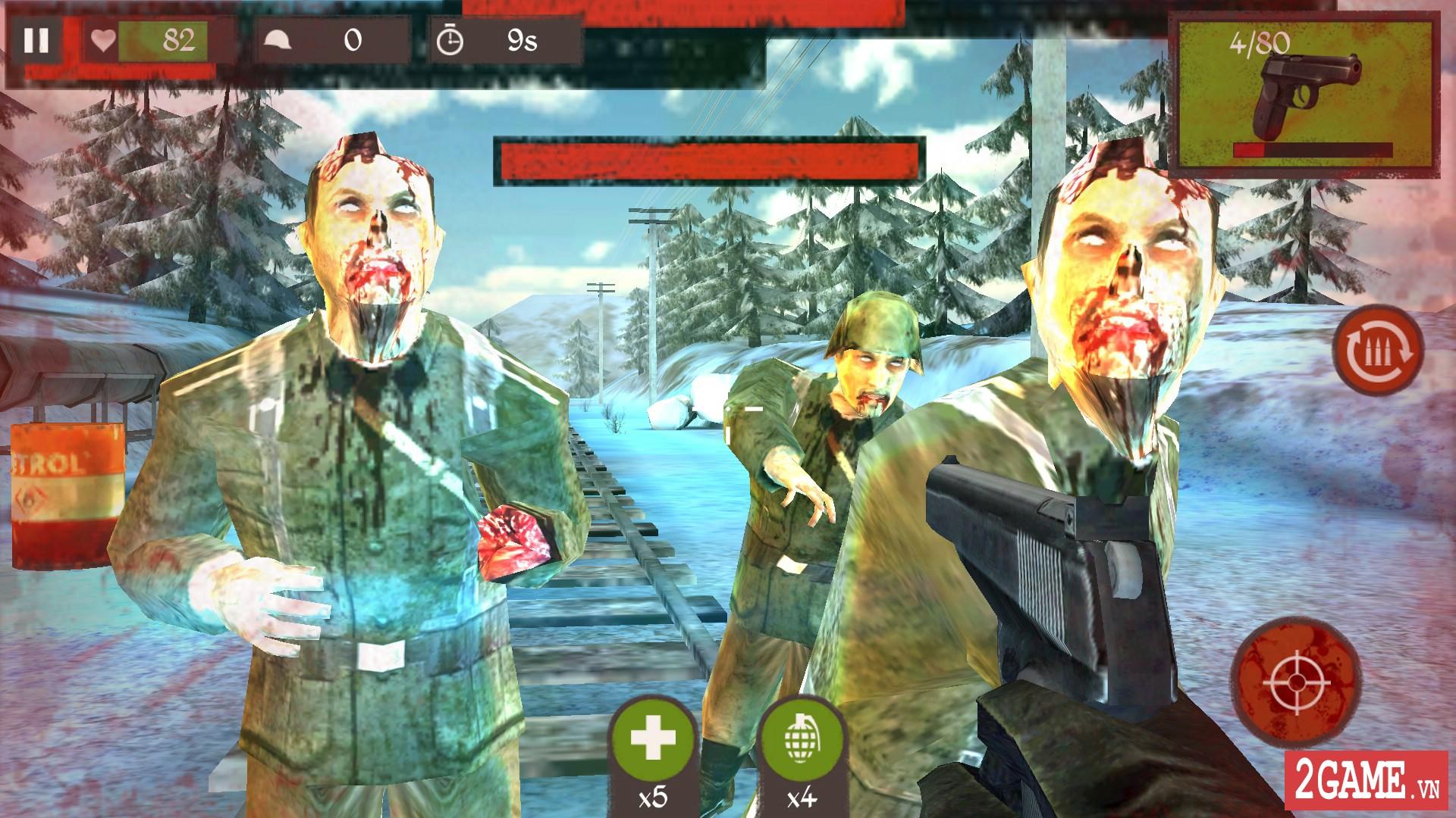 Game bắn súng Blitz Brigade cập nhật chế độ zombie đầy thú vị 2
