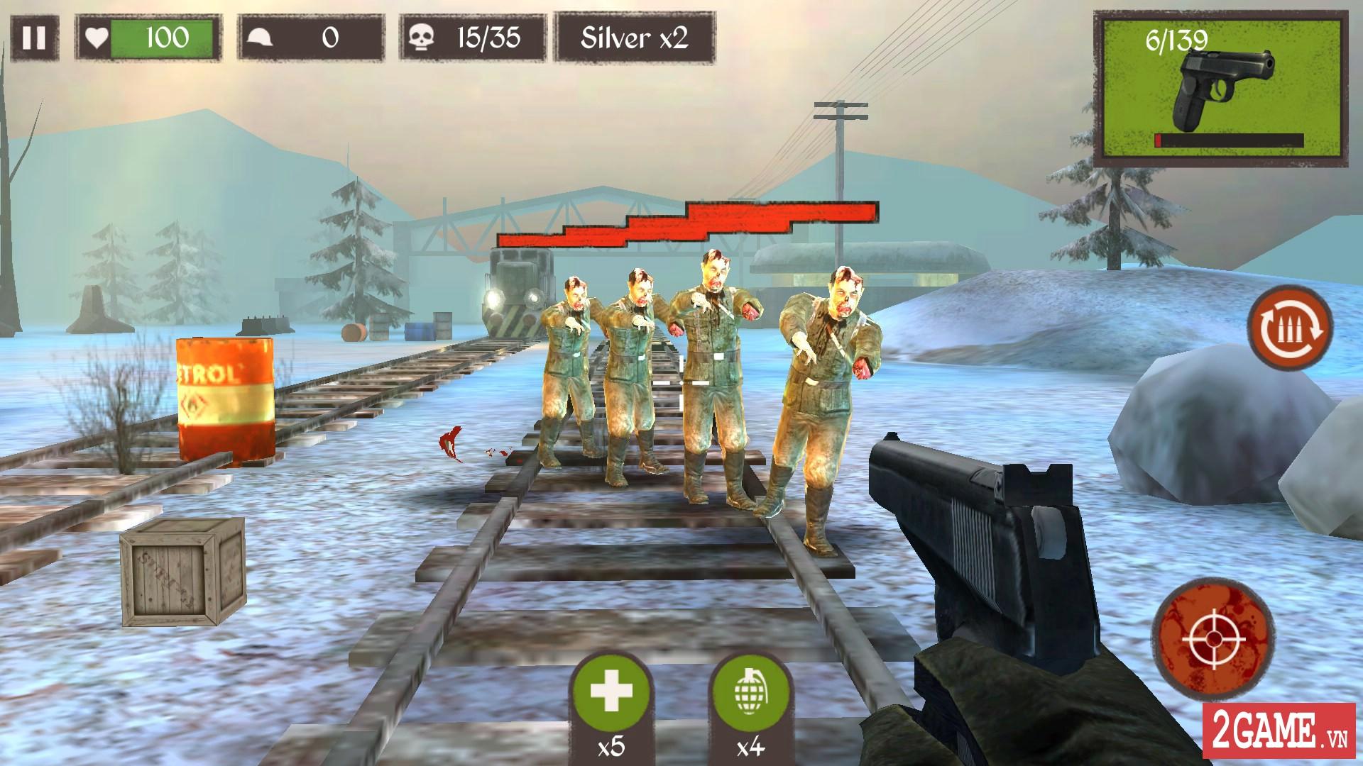 Game bắn súng Blitz Brigade cập nhật chế độ zombie đầy thú vị 3