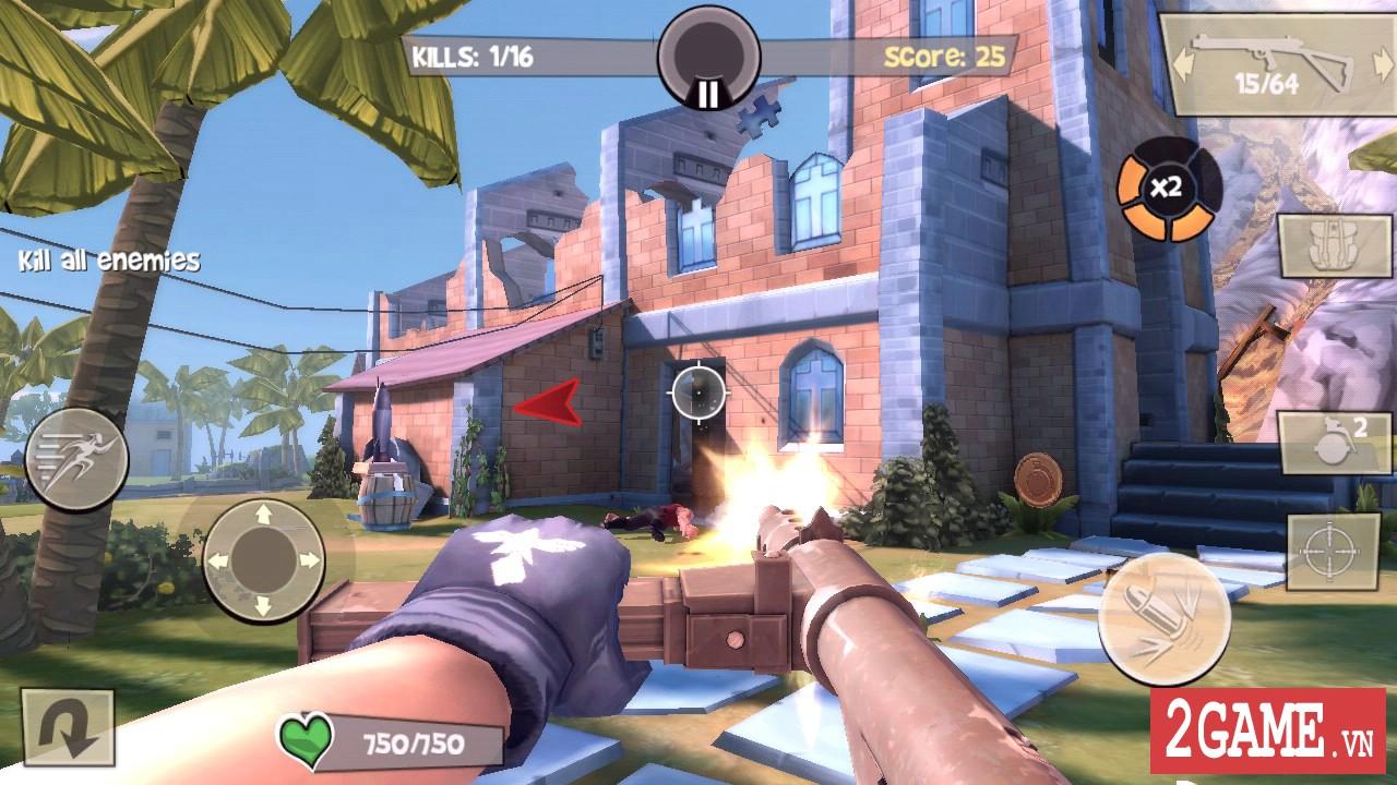 Game bắn súng Blitz Brigade cập nhật chế độ zombie đầy thú vị 0
