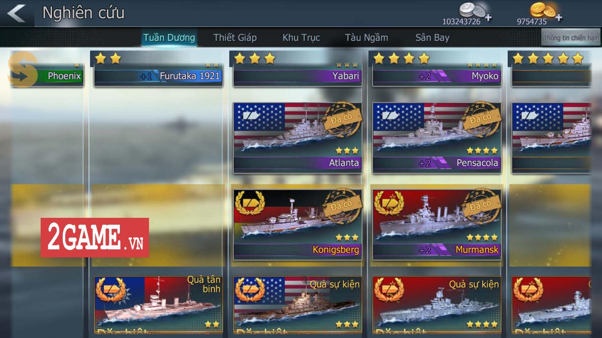 Cận cảnh 3 kiểu tàu chiến ưa dùng nhất trong Thủy Chiến 3D mobile 1