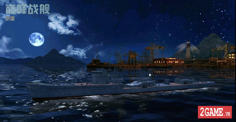 Cận cảnh 3 kiểu tàu chiến ưa dùng nhất trong Thủy Chiến 3D mobile 3