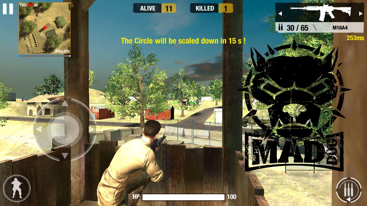 Chơi thử Bullet Strike: Battlegrounds - Game sinh tồn giống hệt Playerunknown's Battlegrounds 0