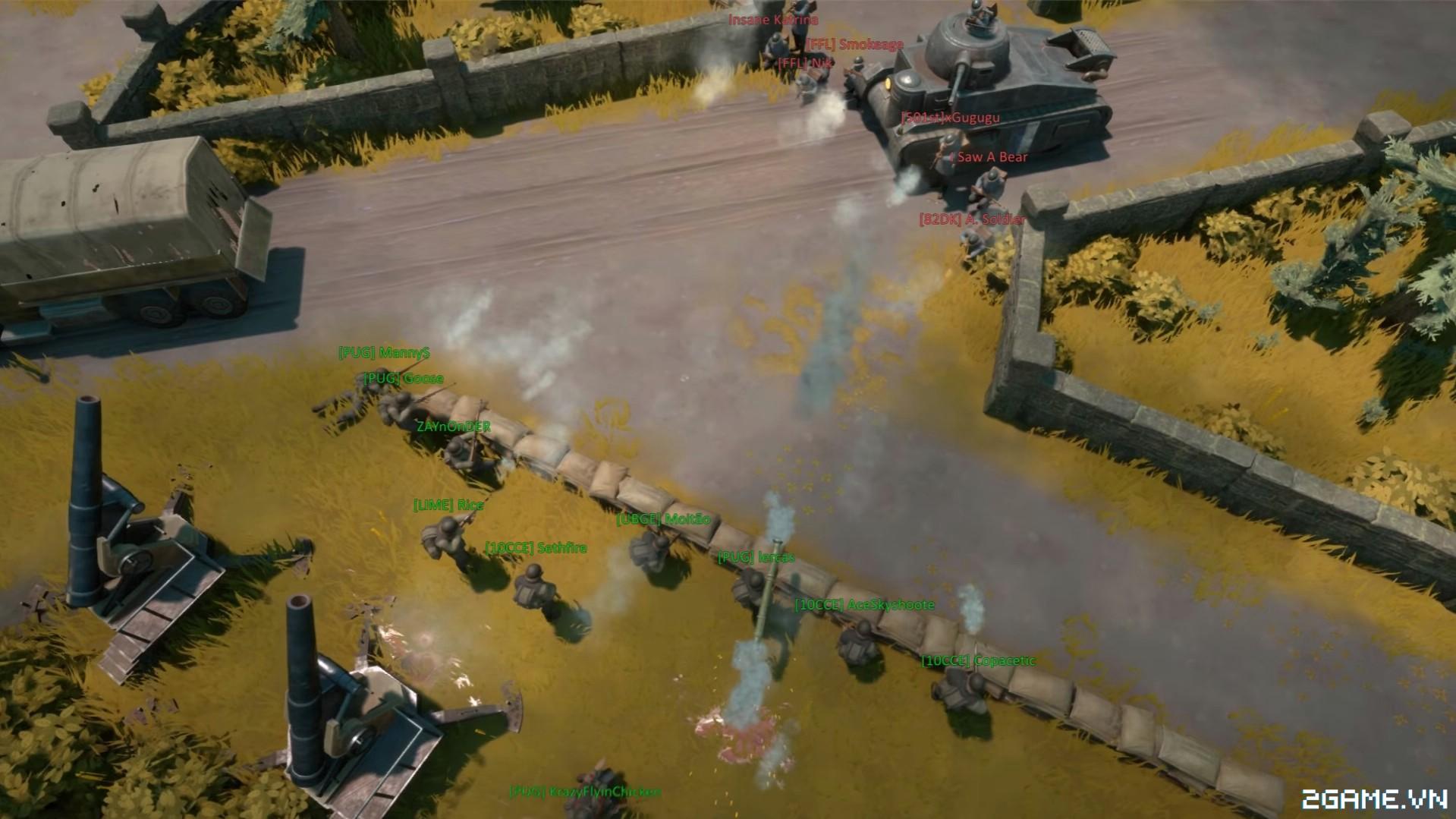 Foxhole - Game online chiến thuật quân sự mô phỏng chi tiết đến không tưởng 1