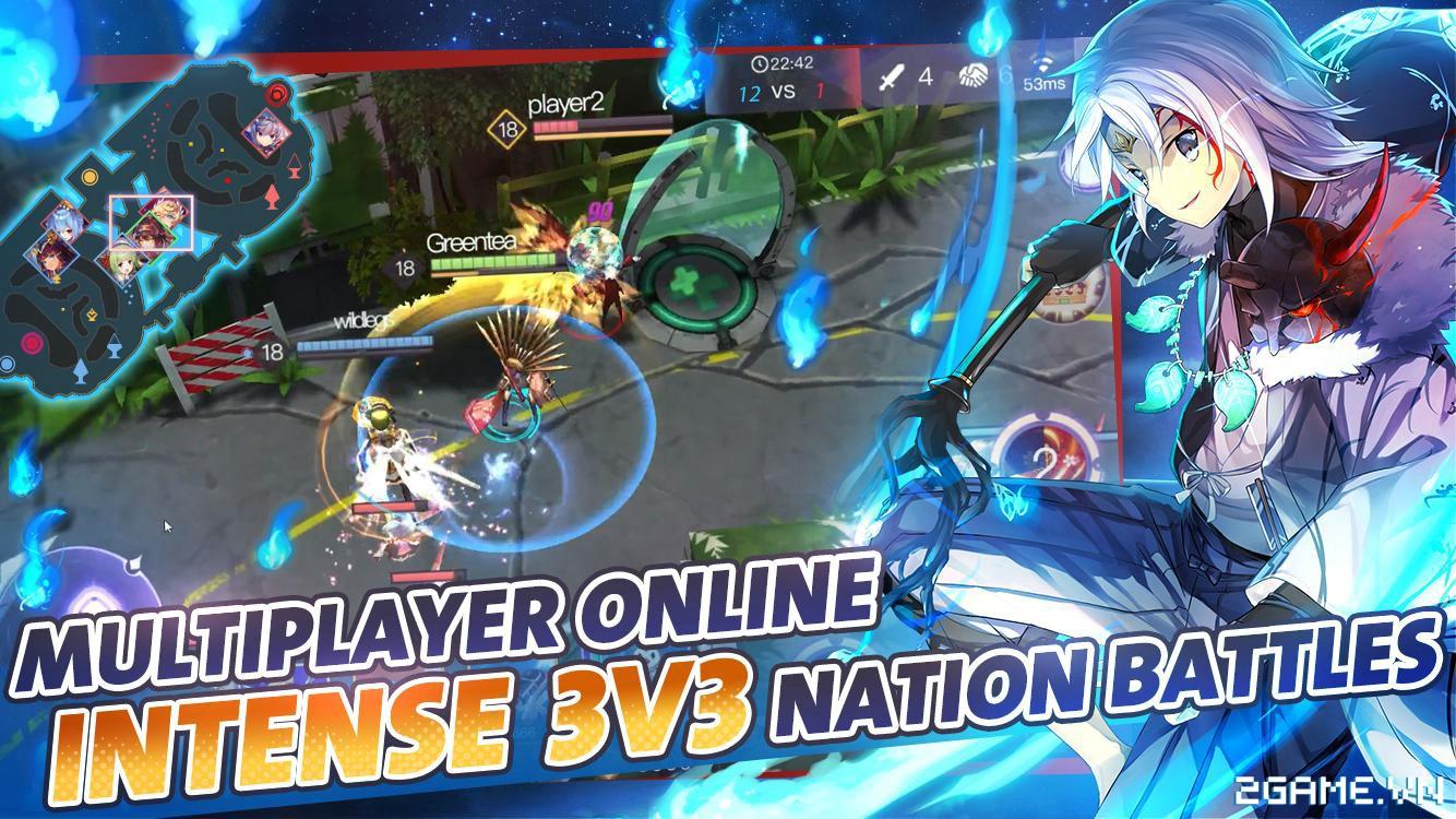 KawaiiStrike – Game MOBA cho phép người chơi điều khiển toàn hotgirl 3