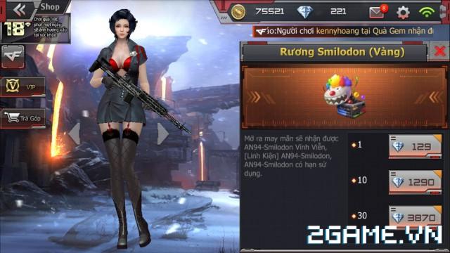 Crossfire Legends - Cập nhật cửa hàng: Mở bán không giới hạn rương AN94-Smilodon & vĩnh viễn 2 vũ khí VIP 3