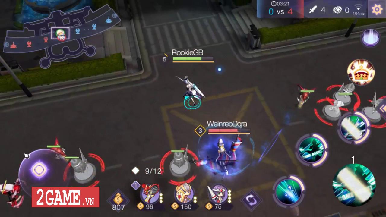 KawaiiStrike – Game MOBA cho phép người chơi điều khiển toàn hotgirl 0