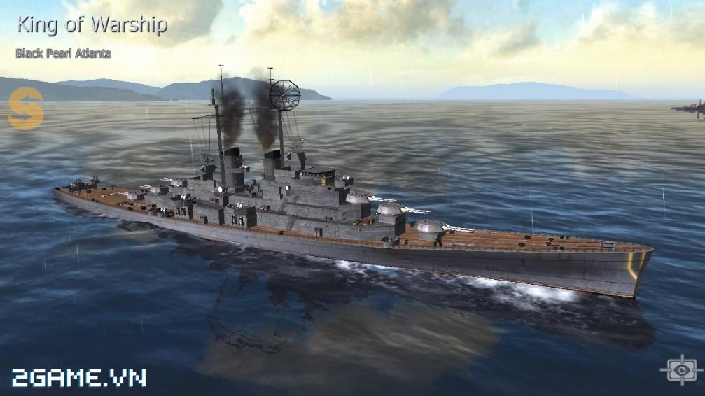 Thủy Chiến 3D mobile - Tuần dương hạm Black Pearl Atlanta 0