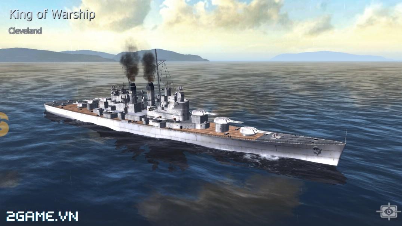 Thủy Chiến 3D mobile - Tuần dương hạm Cleveland 0