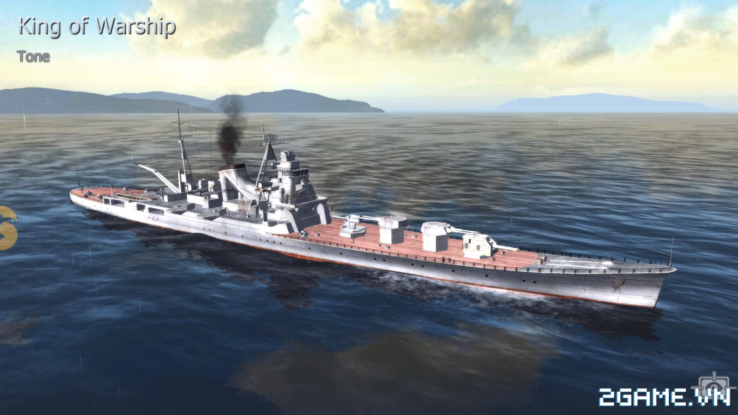Thủy Chiến 3D mobile - Tuần dương hạm Tone 0