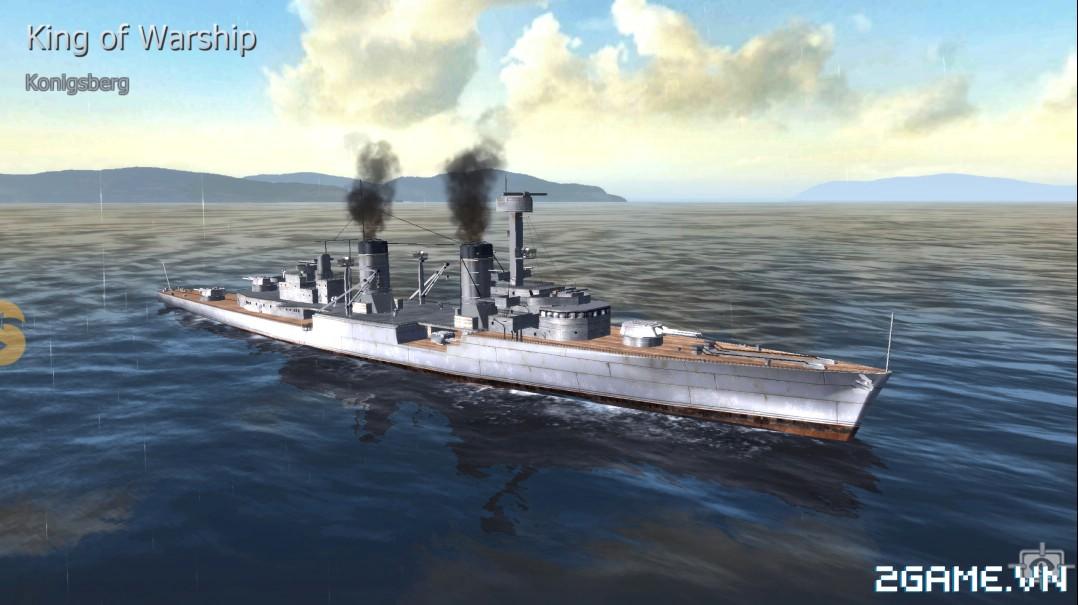 Thủy Chiến 3D mobile - Tuần dương hạm Konigsberg 0