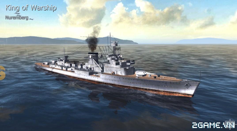 Thủy Chiến 3D mobile - Tuần dương hạm Nuremberg 0