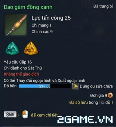 Blade and Soul Việt Nam - Ngọc và Cách tăng sức mạnh vũ khí 1