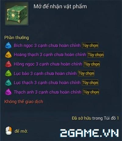 Blade and Soul Việt Nam - Ngọc và Cách tăng sức mạnh vũ khí 8