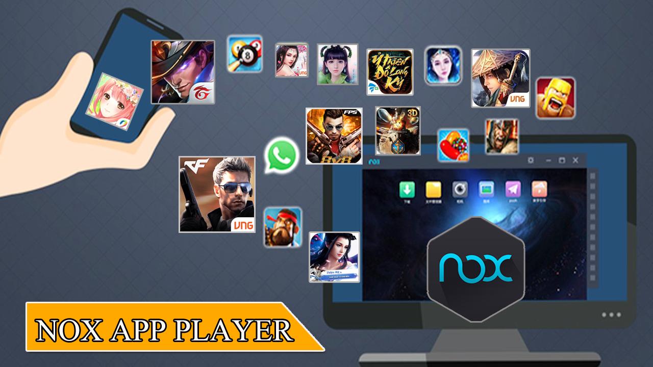 Với Nox App Player các bạn chơi game mobile sẽ không sợ giật lag hay tốn pin nữa 0