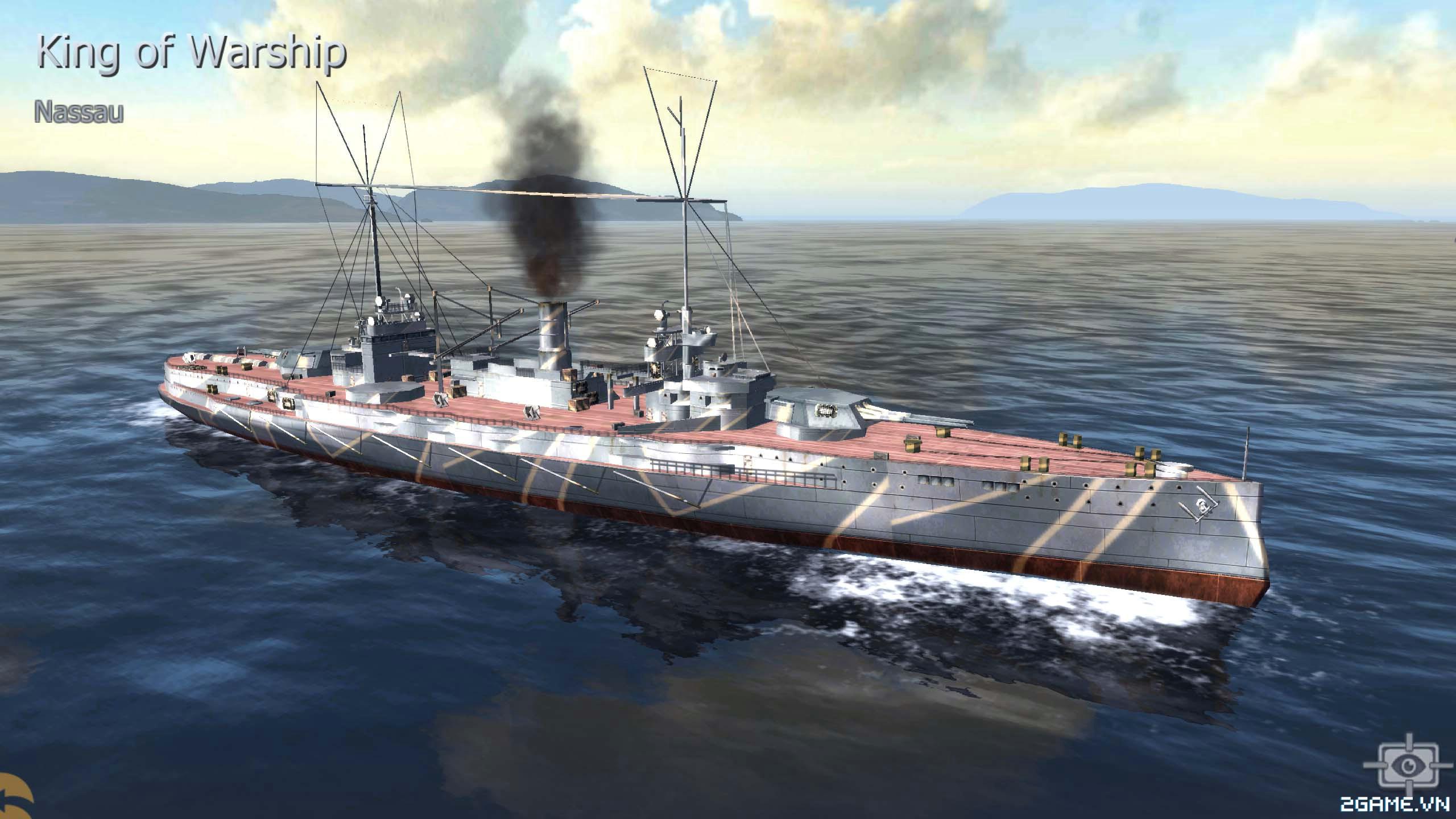 Thủy Chiến 3D mobile - Thiết giáp hạm Nassau 0