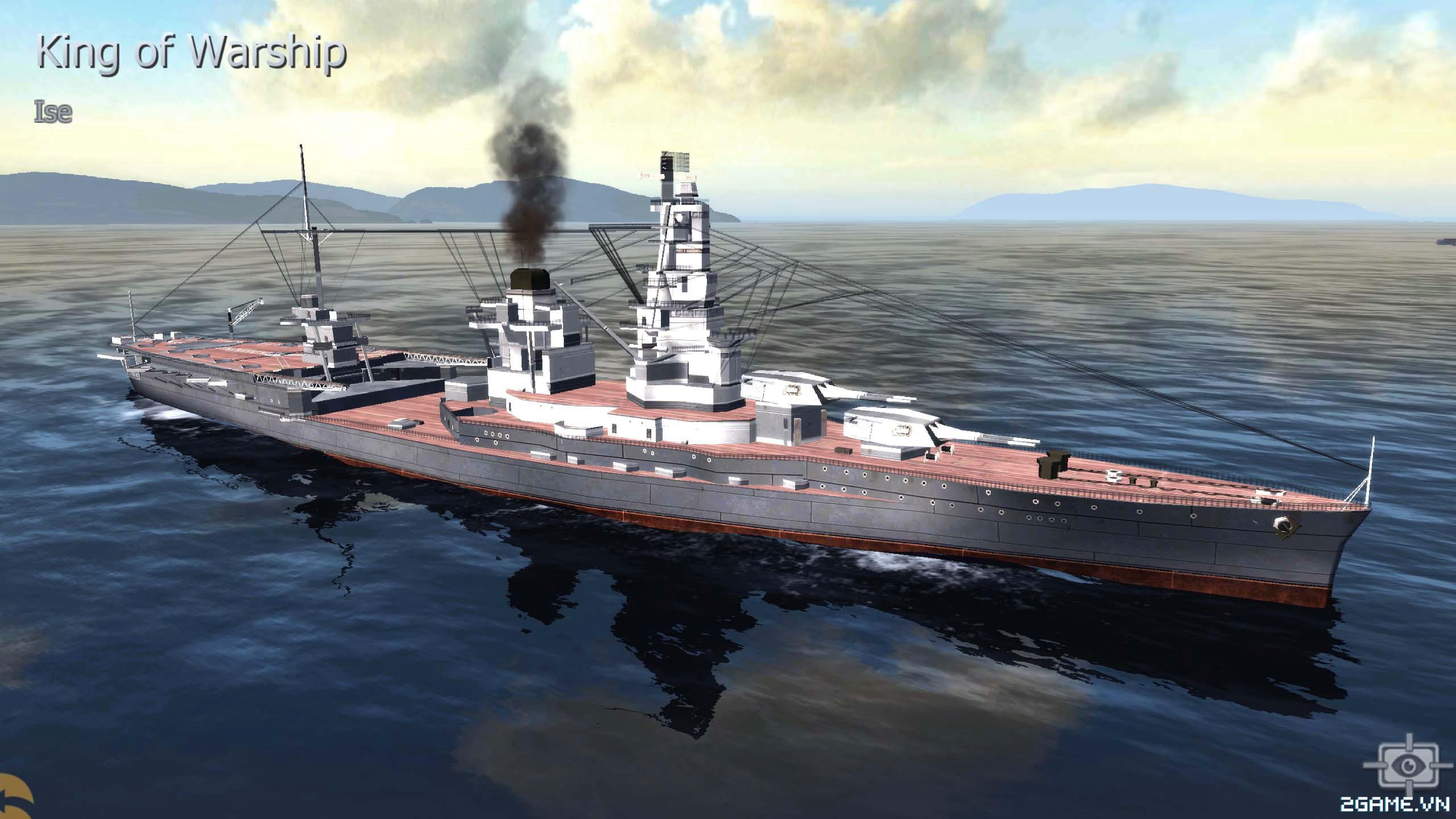 Thủy Chiến 3D mobile - Thiết giáp hạm Ise 0