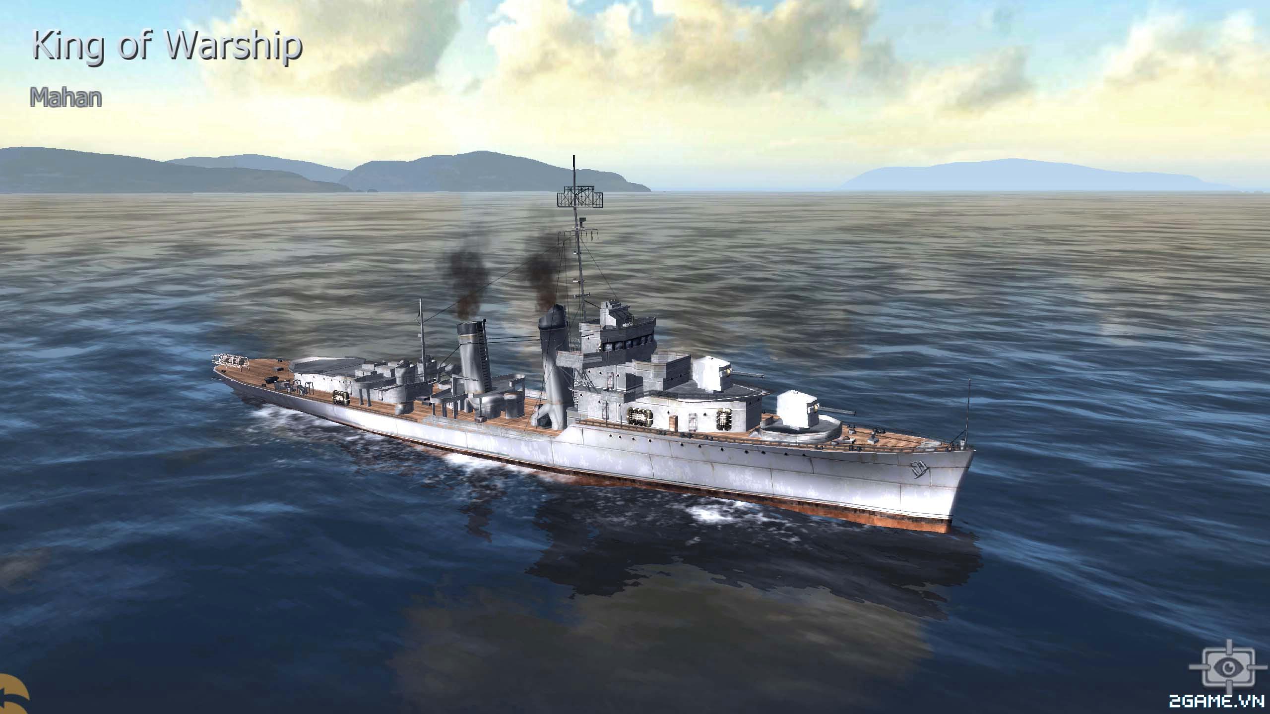 Thủy Chiến 3D mobile - Khu trục hạm Mahan 0