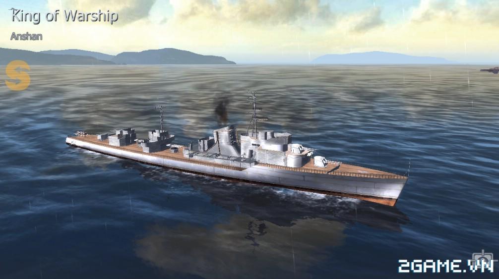Thủy Chiến 3D mobile - Khu trục hạm Anshan 0