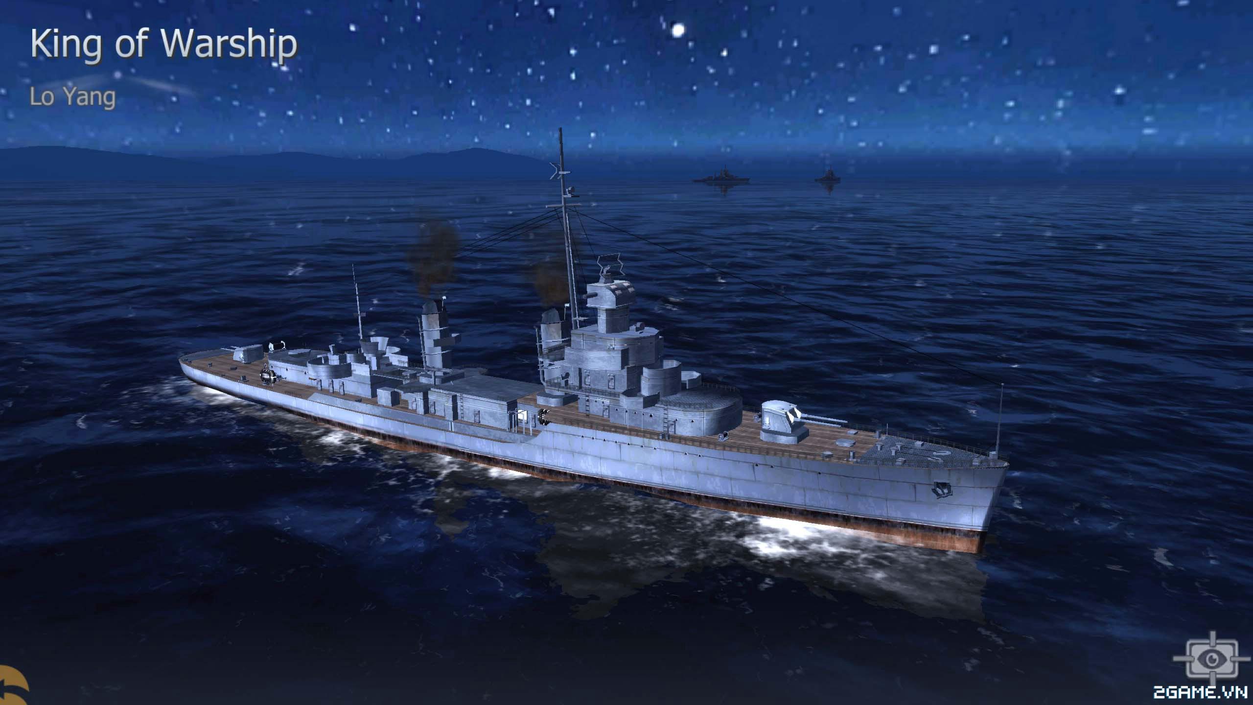 Thủy Chiến 3D mobile - Khu trục hạm Lo Yang 0