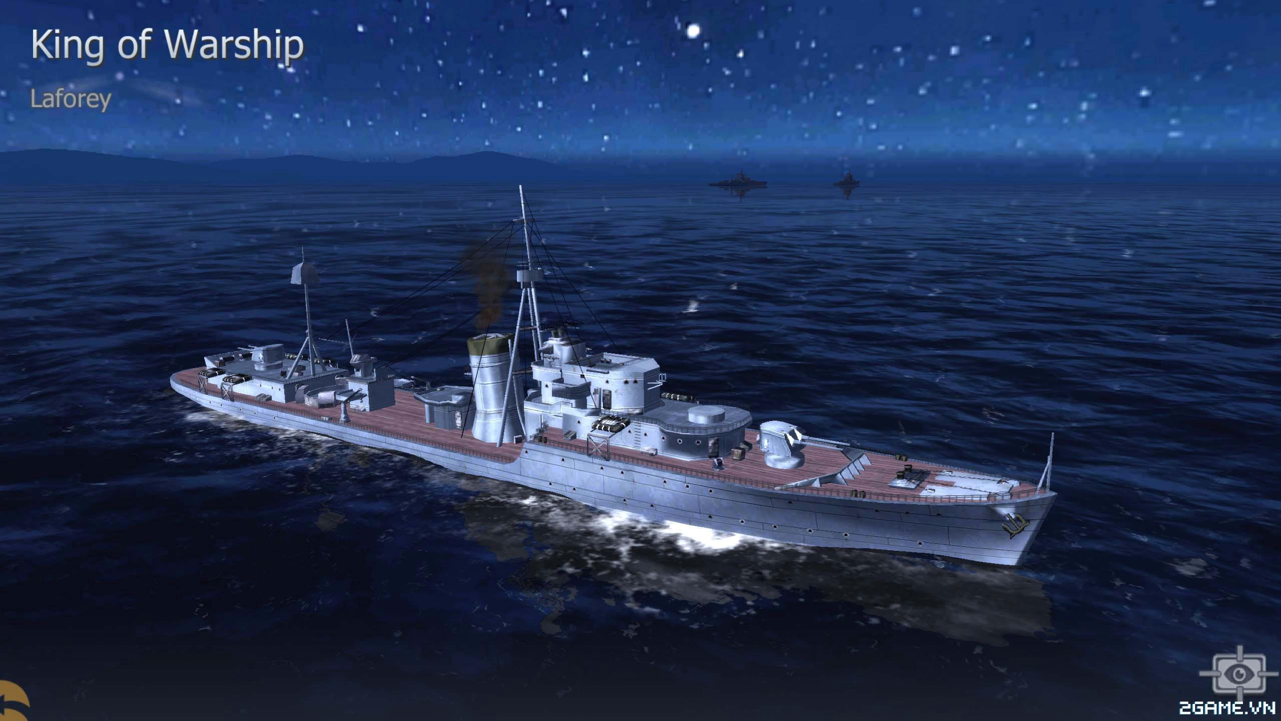 Thủy Chiến 3D mobile - Khu trục hạm Laforey 0