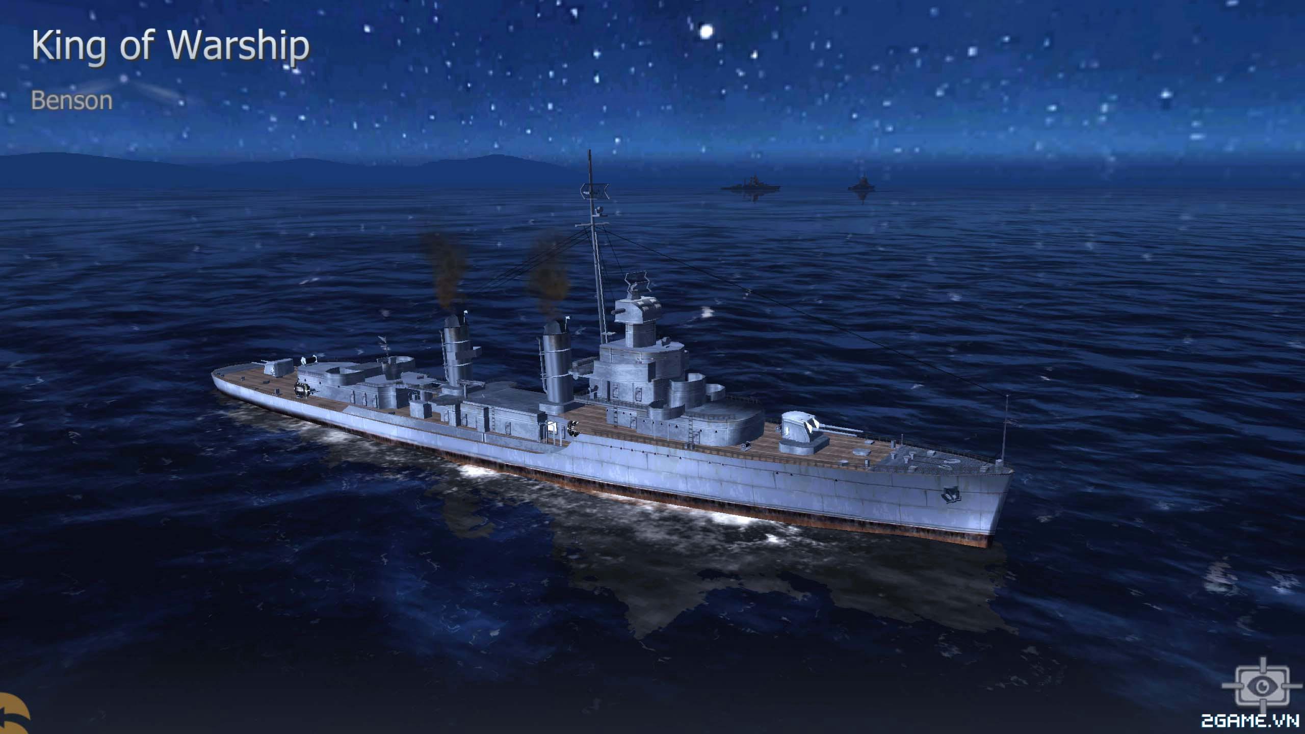 Thủy Chiến 3D mobile - Khu trục hạm Benson 0
