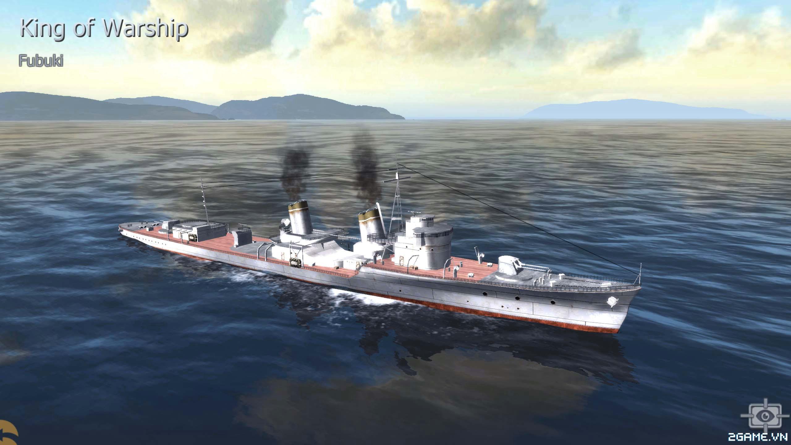 Thủy Chiến 3D mobile - Khu trục hạm Fubuki 0