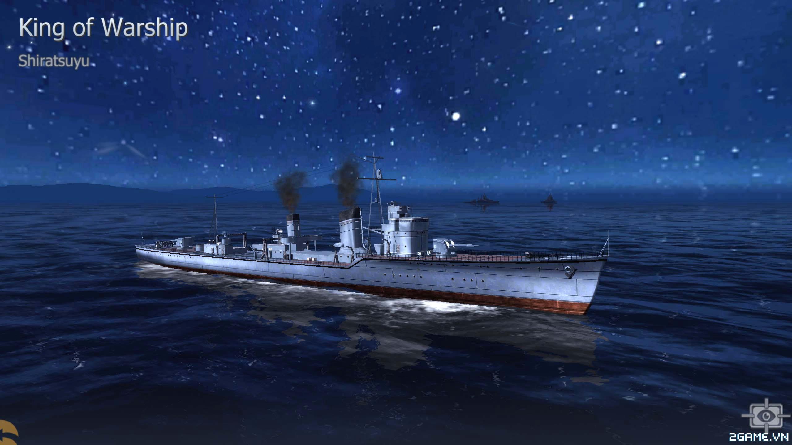 Thủy Chiến 3D mobile - Khu trục hạm Shiratsuyu 0