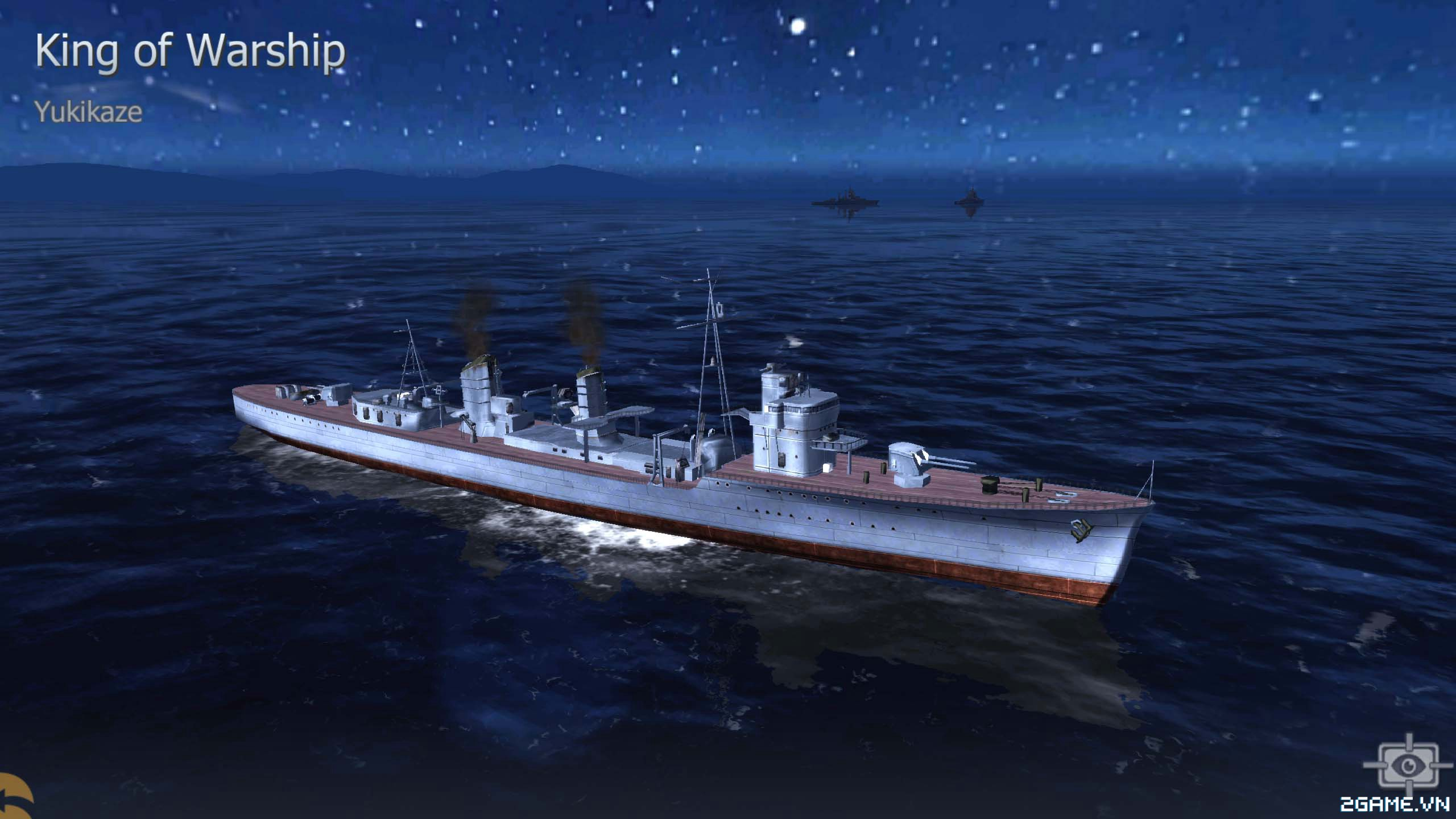 Thủy Chiến 3D mobile - Khu trục hạm Yukikaze 0